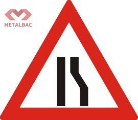 Drum ingustat pe partea dreapta, A10