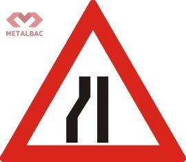 Drum ingustat pe partea stanga, A11