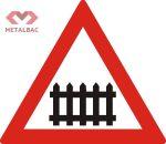 Trecere la nivel cu o cale ferată cu bariere sau semibariere, A41