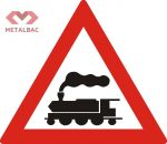 Trecere la nivel cu o cale ferată fără bariere, A42