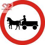 Accesul interzis vehiculelor cu tracțiune animală, C11